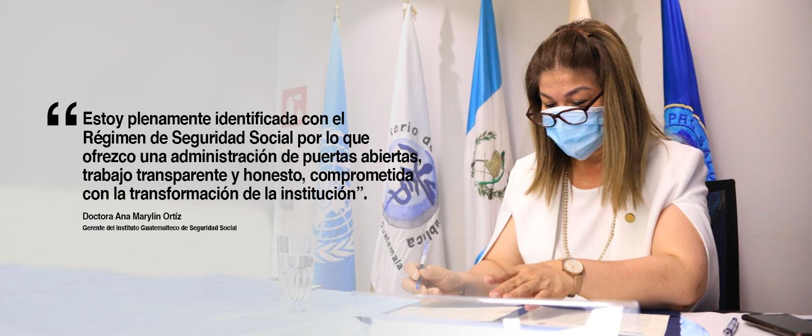 Comunicado Doctora Ana Marylin Ortiz